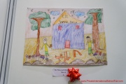 Winning artwork done by a 5 year old participant from Category A