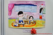 Winning artwork done by a 7 year old participant from Category B