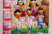 Winning artwork done by an 8 year old participant from Category B