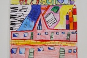 Winning artwork done by a 9 year old participant from Category C