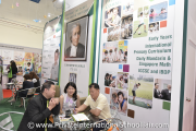 Parents speaking to a St. Joseph's Institution International School Malaysia representative