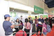 Visitors finding out what St. John's International School has to offer