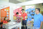 It's all smiles at the Singapore Discovery Center booth