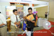 A visitor finding out more about Sri Acmar Schools