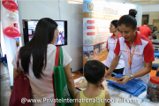 The Sri Acmar Schools booth