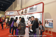 Visitors at Sunway International School's booth