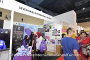 Visitors wanting to know more about Seven Skies International School