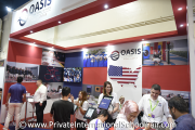 Oasis International School - Kuala Lumpur representatives interacting with visitors
