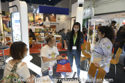 Visitors at Asia Pacific Schools' booth