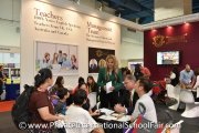Kingsgate International School booth