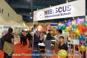 Hibiscus International School booth