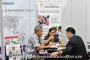 The International School @ ParkCity booth