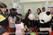 WWF Malaysia's mascot entertaining visitors