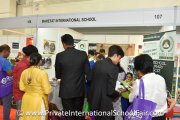 Marefat International School booth