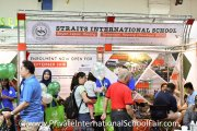 Straits International School booth