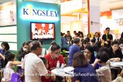 Kingsley International School booth