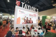 Visitors finding out what Taylor's International School has to offer