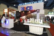 The MRCB booth