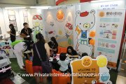 Kids and parents at the My Art Studio Mid Valley booth